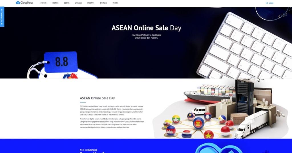 Belanja Hosting dan VPS Murah di ASEAN Online Sale Day (AOSD) 2020