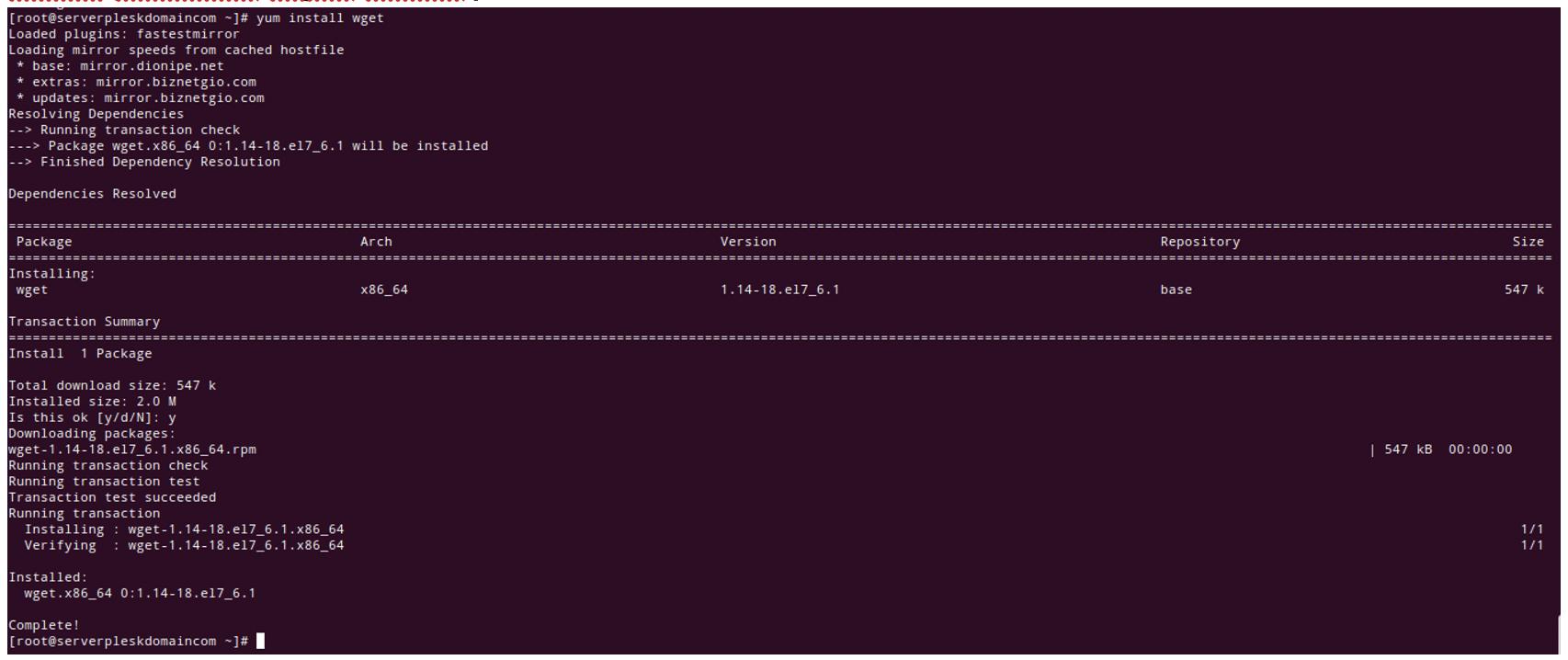 Cara Instalasi Plesk  pada Layanan Server  Private Cloud | IDCloudhost