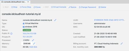 Cara Melakukan Building / Instalasi Server Private Cloud dengan Menggunakan OS Windows   IDCloudHost