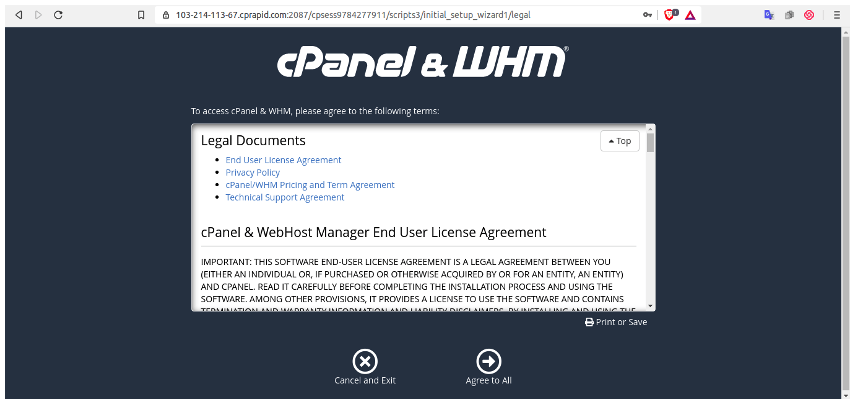 Cara Instalasi CPanel pada Layanan Server Private Cloud   IDCloudHost