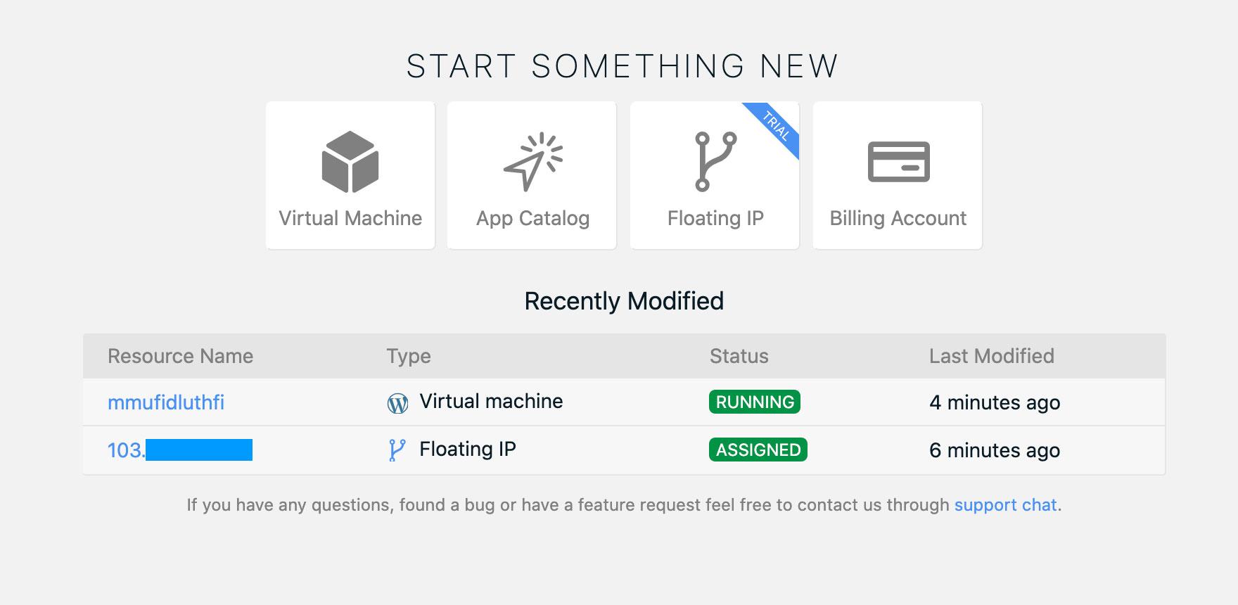 Cara Menggunakan Instant Deploy CMS wordpress pada Server Private Cloud (App Catalog) | IDCloudHost
