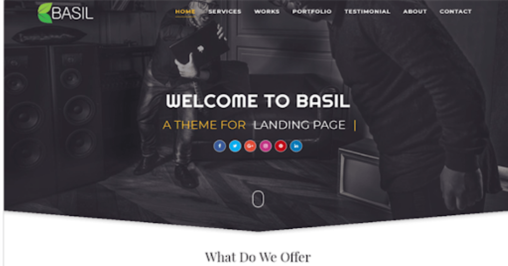 Kumpulan Template Blogger Perusahaan GRATIS dan Premium