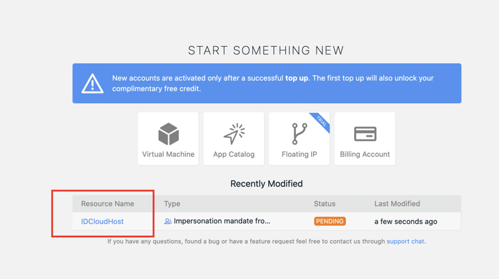 Cara Memberikan Akses Layanan Private Cloud ke User Lainnya | IDCloudHost