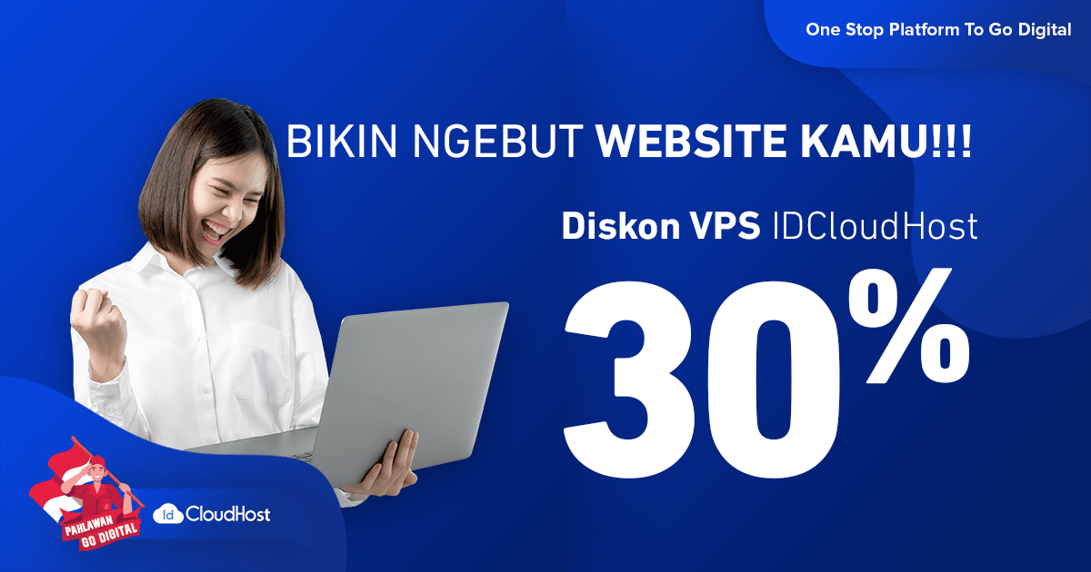 Promo Server VPS Murah Indonesia IDCloudhost