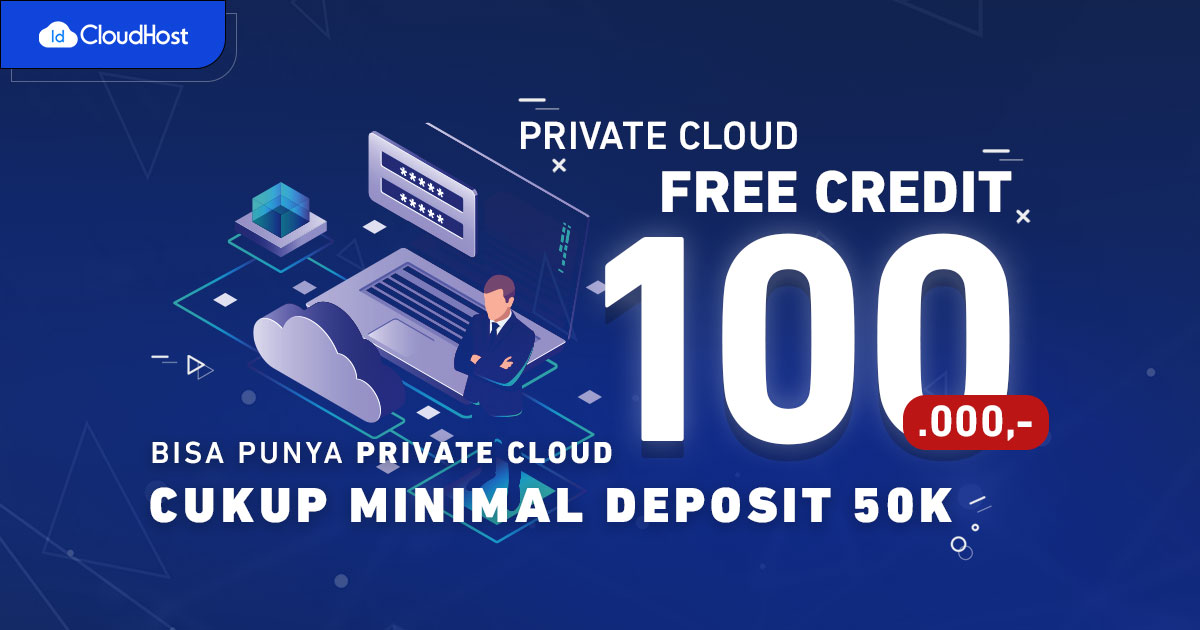 Private Cloud IDCloudHost Promo Desember 2020