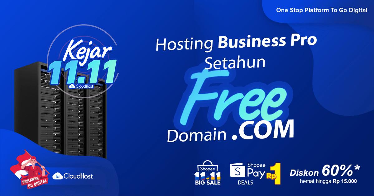 Promo Domain COM Gratis