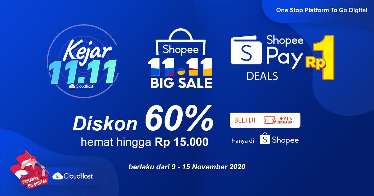 Promo Shopeepay Diskon 60 Idcloudhost