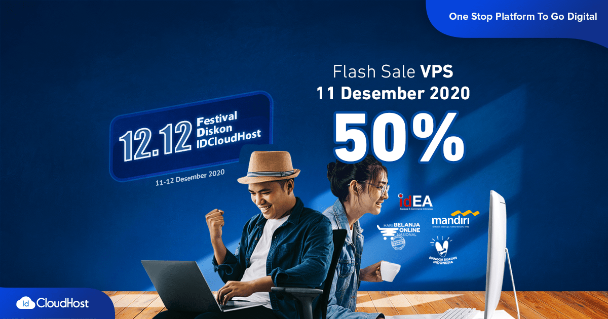 Promo VPS Diskon 50% - 2020