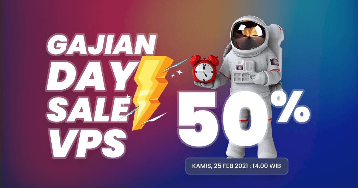Flash Sale VPS 50