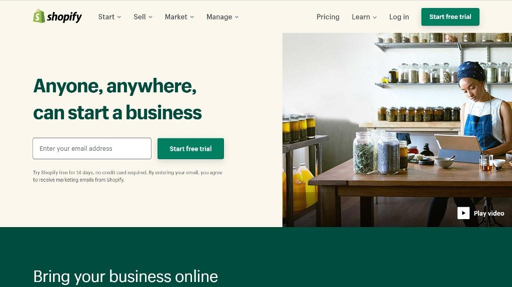 Keunggulan Shopify untuk Kebutuhan Website Toko Online / Bisnis Online