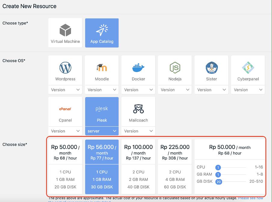 Cara Install Plesk pada Layanan Private Cloud (App Catalog) | IDCloudHost