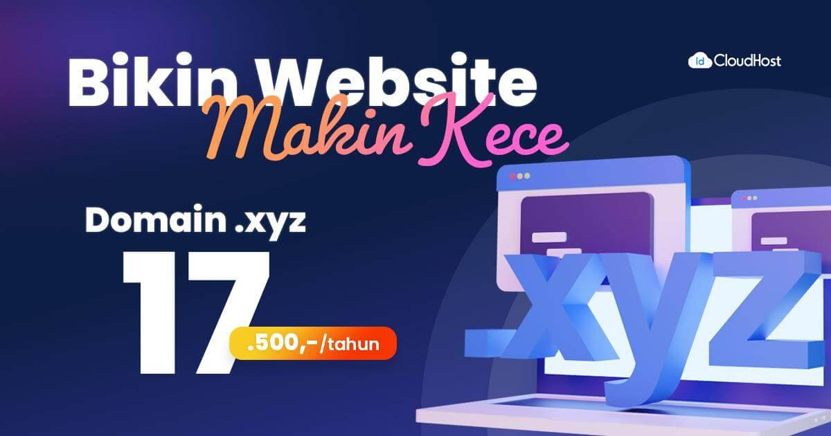 Promo Domain .XYZ 17.500 (Thumbnail)