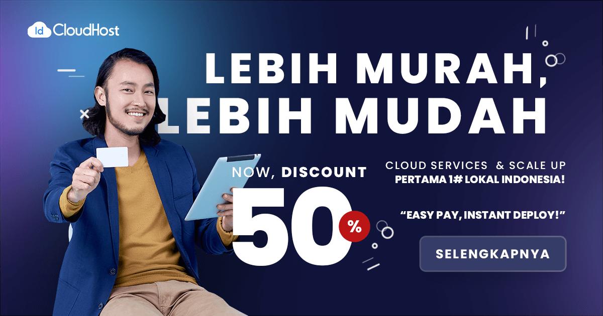 Promo Private Cloud 50%