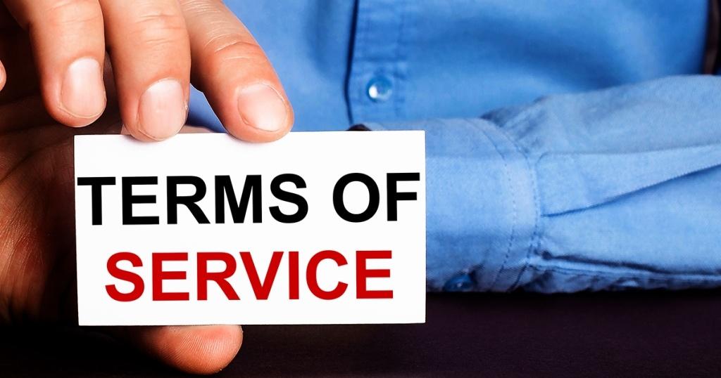 Fungsi Halaman Term of Service pada Bisnis Online yang Perlu Diketahui
