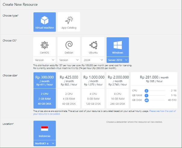 Cara Membuat VM di Cloud VPS Menggunakan Sistem Operasi Windows Server 2019