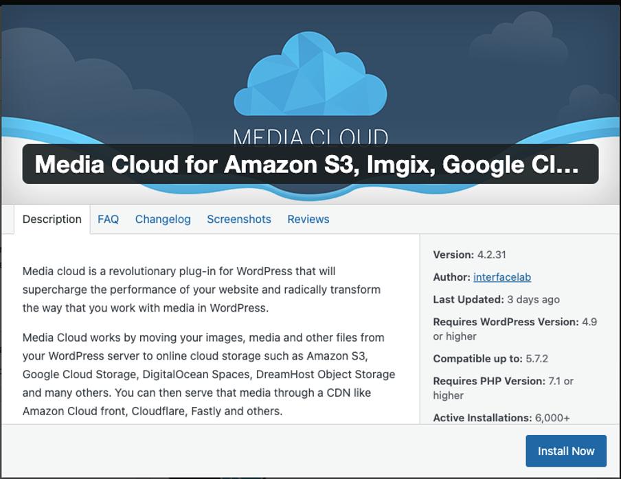 Integrasi Object Storage Sebagai Media Library di WordPress   IDCloudHost