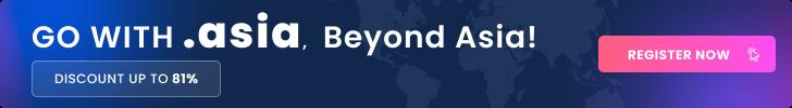 Promo domain ASIA - Webnic