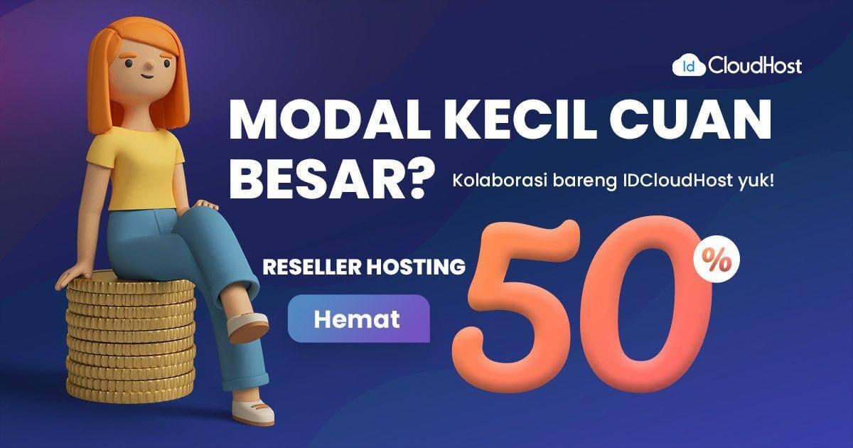 Promo Reseller Hosting Plesk 50