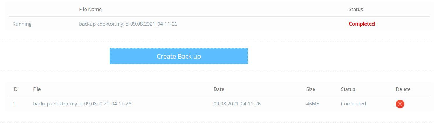 CyberPanel VPS Backup