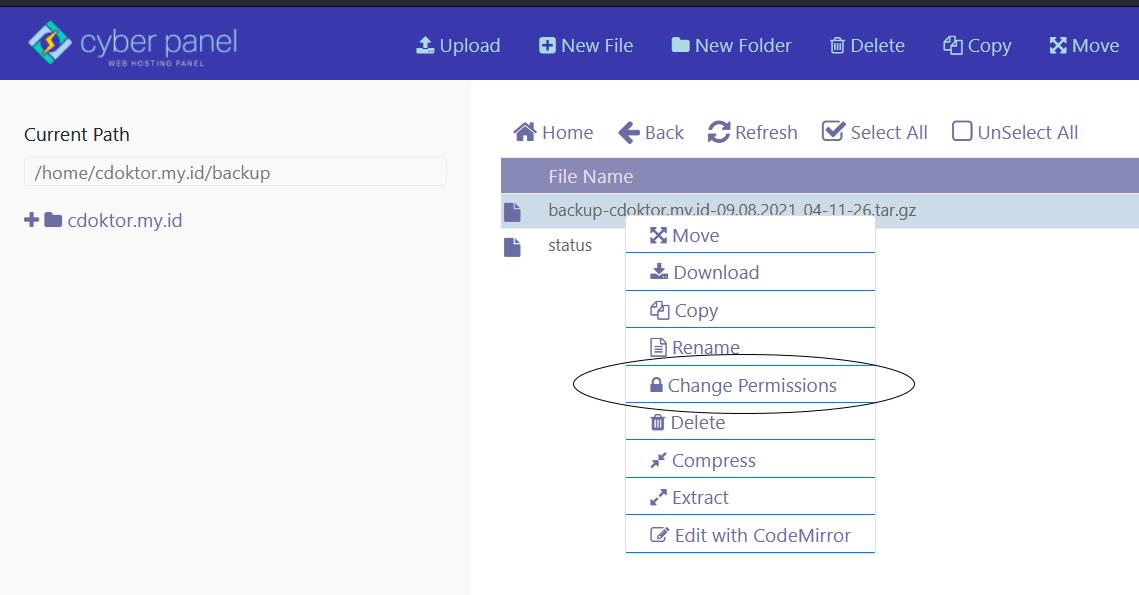 Install CyberPanel
