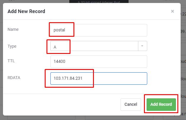 Instal Mail Server