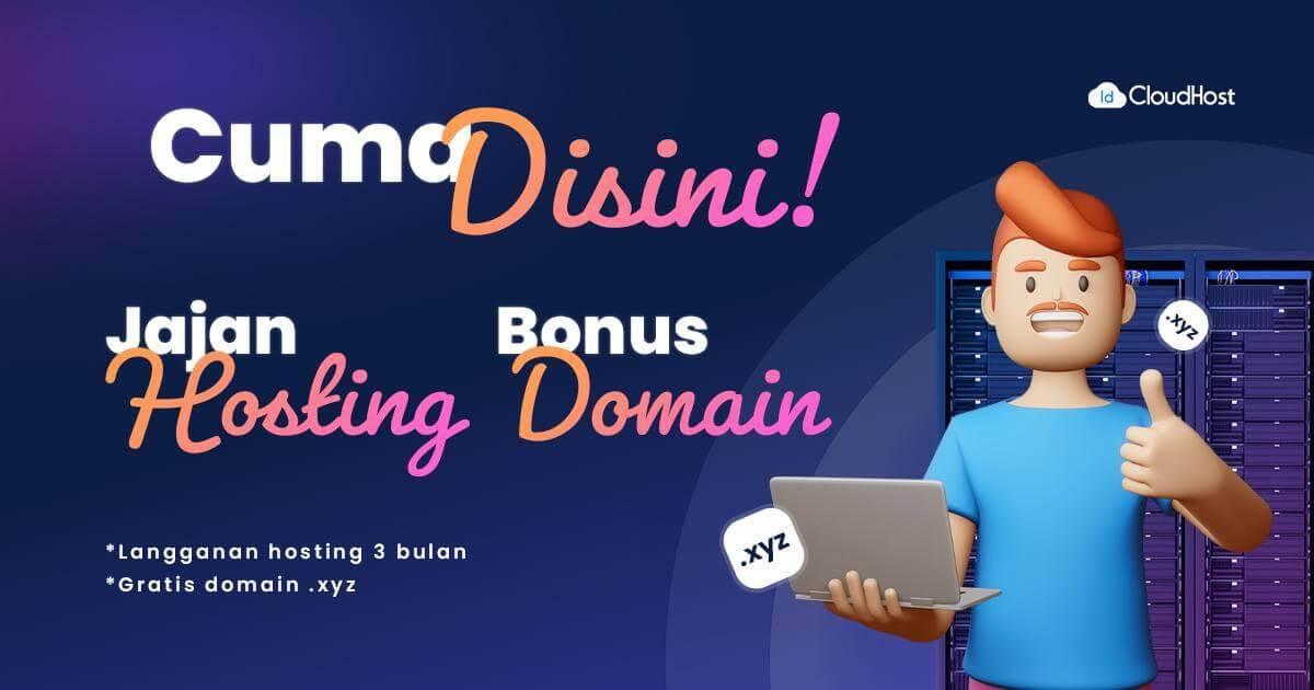 Promo Bundling StarterPro+Domain .XYZ (Thumbnail)